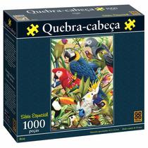 Brinquedo Quebra Cabeça 1000 Peças Série Especial Aves