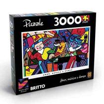 Quebra Cabeça Puzzle 3000 Peças Latin Grammy Romero Britto