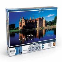 Quebra Cabeça Puzzle 3000 Peças Castelo De Egeskov