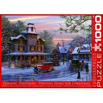 Quebra-cabeças - Dirigindo Para Casa Para O Natal 1000 Peda