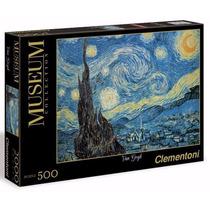 Quebra Cabeça Puzzle 500 Peças Van Gogh Noite Estrelada Imp