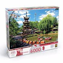 Quebra Cabeça Puzzle 6000 Pç Tivoli Gardens Lançamento Grow