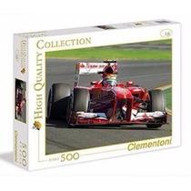 Quebra Cabeça Puzzle 500 Peças Carro De Formula 1 Corrida