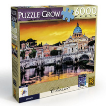 Quebra-cabeça 6000 Peças Vaticano - Grow