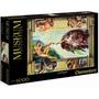 Quebra Cabeça Puzzle 6000 Peças Michelangelo Criação De Adão