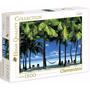 Quebra Cabeça Puzzle Clementoni 1500 Peças Ilhas Cook - Ilha