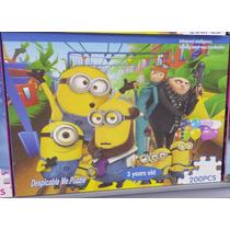 Quebra Cabeça Disney 200 Peças - Minions - Presente Infantil