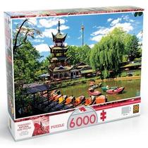 Quebra Cabeça Puzzle 6000pç Tivoli Gardens Grow