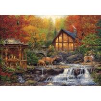 Quebra Cabeça Puzzle Clementoni 3000 Peças Autumn Outono