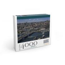 Puzzle 4000 Peças Golden Horn-istambul Com Porta Puzzle