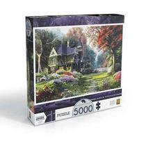Quebra Cabeça Puzzle 5000 Peças Jardim Vitoriano