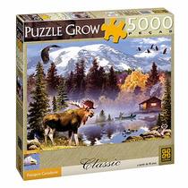 Quebra-cabeça Paisagem Canadense Com 5000 Peças - Grow