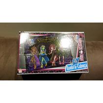 Quebra Cabeça Monster High Grow 100 Peças + Boneco Simpsons