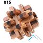 Quebra Cabeça Madeira Puzzle 3d Wood Desafio Cubo Jogo