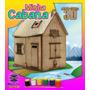 Quebra-cabeças 3d 78 Peças Minha Cabana - Monta Mundi.