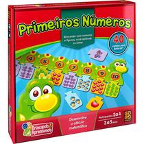 Jogo Educativo Infantil - Primeiros Números - Original Grow