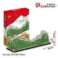 Quebra Cabeça 3d Cubic Fun The Great Wall Of China 75 Peças