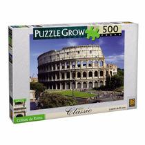 Novo Quebra-cabeça Puzzle 500 Peças Coliseu De Roma