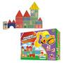 Brinquedo Educativo- Pequeno Construtor 42 Peças Em Madeira