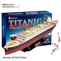 Titanic Quebra Cabeças 3d Puzzle Cubic Fun 113 Parte 80cm