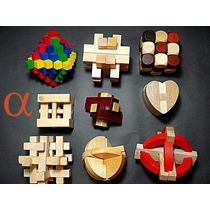 Quebra Cabeça Madeira Puzzle 16 Modelos C/instruções.nota F