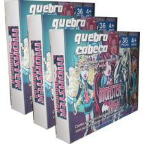 Quebra Cabeça Monster High 36 Peças Jogos Infantil Educativo