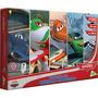 Coleção Com 5 Quebra Cabeças Aviões Disney Jak Toyster