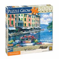 Quebra Cabeça 5000 Peças Vista De Portofino Puzzle Grow