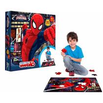 Quebra Cabeça Grandão Homem Aranha Marvel Toyster