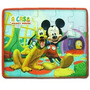 Quebra Cabeça De Madeira Kit C3 Mickey-princesas-pooh Disney