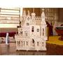Casa Casinha De Boneca Poly, Barbie Cortado Laser 23 Moveis