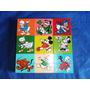 Raro Qc Em Cubos De Madeira Forma Personagens Disney Usado