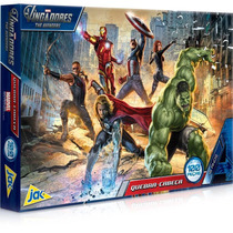 Box 03 Quebra-cabeças - Vingadores, Hot Wheels & Cinderella