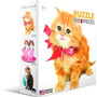 Quebra-cabeças - Gato Com Bow 100 Pedaço Eurographics Mini
