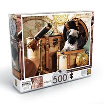 Quebra-cabeça Aventuras Caninas 500 Peças Grow
