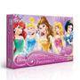 Quebra-cabeça Princesas 250 Peças Disney Original Toyster