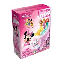 Quebra-cabeça Supercombo Feminino 1000 Pçs Disney Original