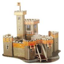 Quebra Cabeça Puzzle 3d Fantasy Castle 37pç Castelo Hobbie