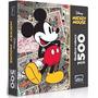 Quebra-cabeça Mickey Mouse 500 Peças Disney Original Lacrado