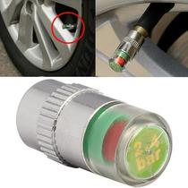 Biquinho Monitor De Pressão Pneu Sensor - Com Alerta De Cor