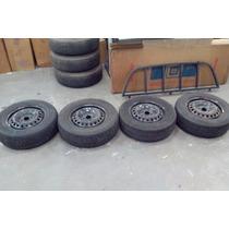 Jogo Rodas De Ferro Gm R15x6 - 04 Furos Com Pneus 205/65 R15