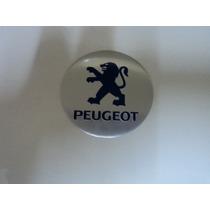 Emblema Peugeot Para Rodas Esportivas Tamanho 69mm