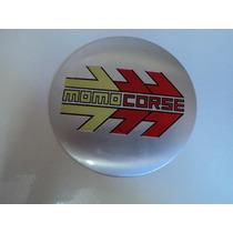 Emblema Momo Corse Adesivo Para Rodas Esportivas 117mm