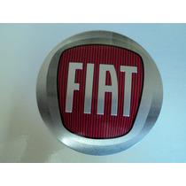 Emblema Fiat Adesivo Para Rodas Esportivas 117mm