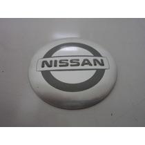 Emblema Adesivo Nissan Para Rodas Esportivas 58mm