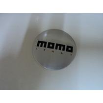 Emblema Momo Italy Adesivo Para Rodas Esportivas 69mm