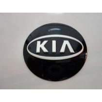 Emblema Adesivo Kia Para Rodas Esportivas 58mm