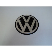 Emblema Vw Adesivo Para Rodas Esportivas Golf 90mm