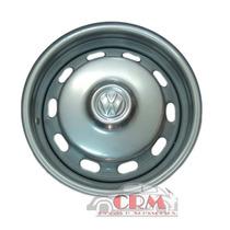 Roda Fusca Mexicano C/ Calota / Serve Brasilia/ Variant/ Tl