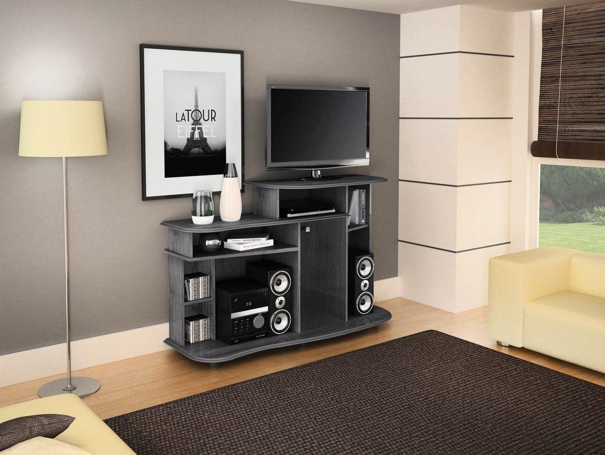 Painel Tv Sala De Estar ~ Rack Ficus Bancada Painel Tv Sala De Estar 1,44m  Colibri  R$ 339,00